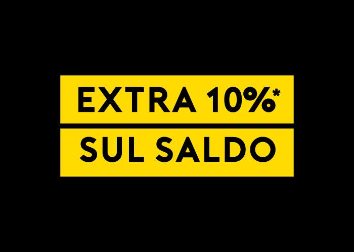 EXTRA 10% DI SCONTO