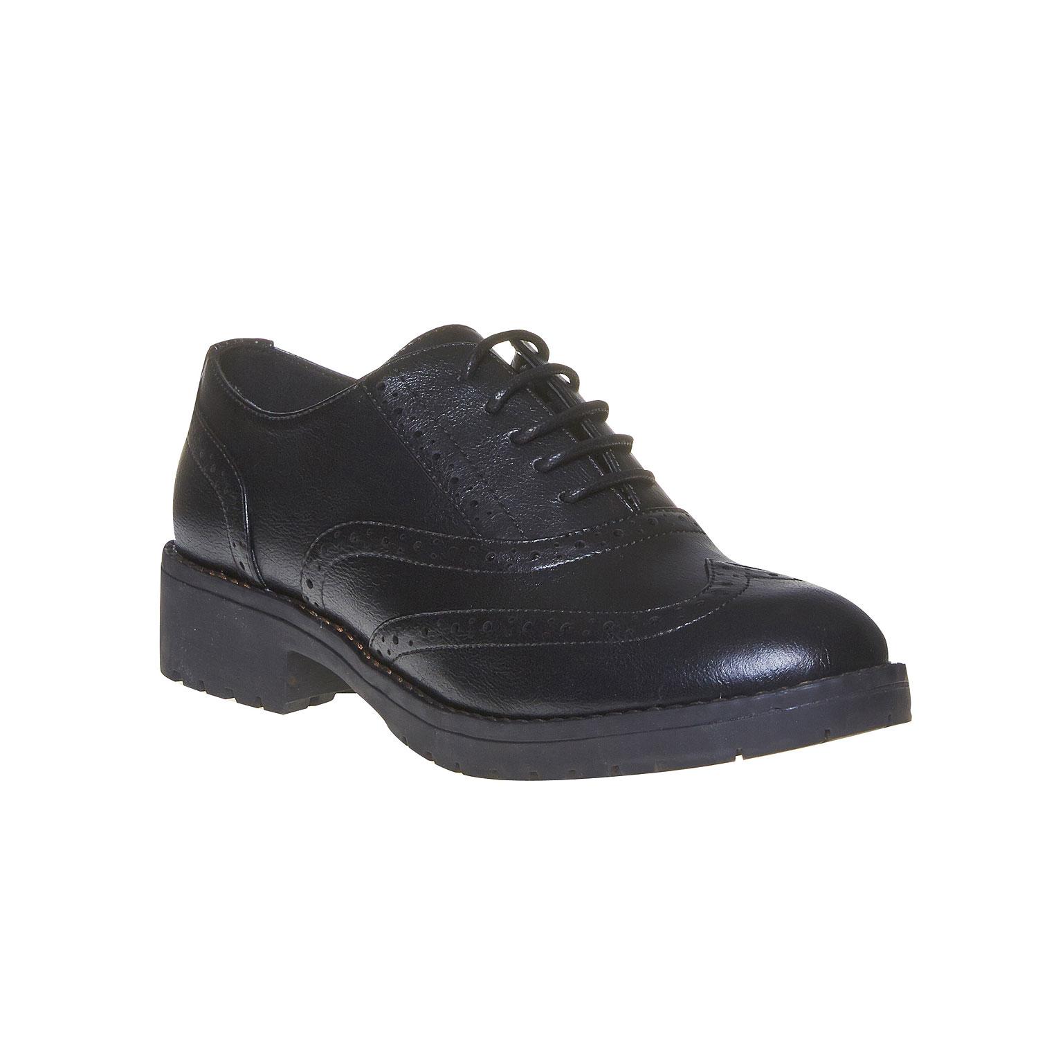 spesso Bata Scarpe basse eleganti da donna stile Oxford colore nero  AJ85